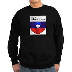 Slovenia Flag Crest Shield Sweatshirt