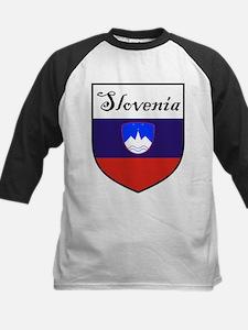 Slovenia Flag Crest Shield Tee