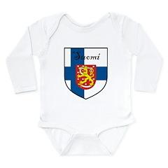 SuomiShield.jpg Long Sleeve Infant Bodysuit