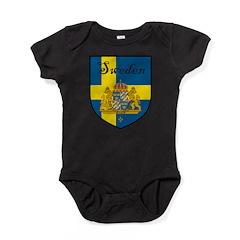 SwedenSHIELD.png Baby Bodysuit