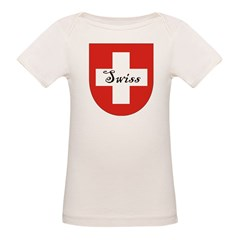 Swiss Flag Crest Shield Tee