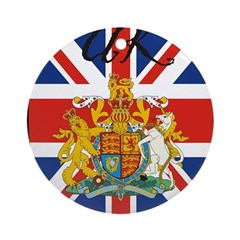 uk-transp.png Ornament (Round)
