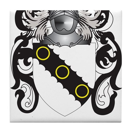 Clarkson Coat of Arms Tile Coaster