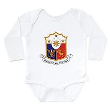 philippines-coa.jpg Long Sleeve Infant Bodysuit