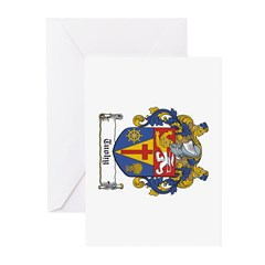 tuohy-oval3 Greeting Cards