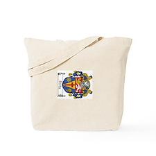 Cute Celtic oval Tote Bag