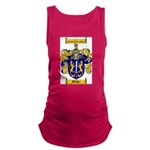 Maher Family Crest Maternity Tank Top