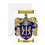 Maher Family Crest Greeting Card