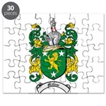 Malone Family Crest Puzzle