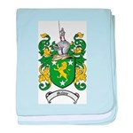 Malone Family Crest baby blanket