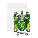 Malone Family Crest Greeting Card