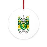 Malone Family Crest Ornament (Round)
