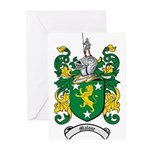 Malone Family Crest Greeting Cards (Pk of 10)