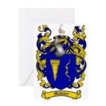 Maloney Family Crest Greeting Card