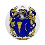 Maloney Family Crest Ornament (Round)