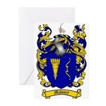 Maloney Family Crest Greeting Cards (Pk of 10)