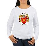 Manning Family Crest Women's Long Sleeve T-Shirt