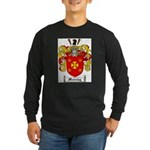 Manning Family Crest Long Sleeve Dark T-Shirt