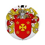 Manning Family Crest Ornament (Round)