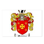 Manning Family Crest Postcards (Package of 8)