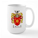 Manning Family Crest Large Mug