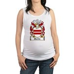 Martin Family Crest Maternity Tank Top