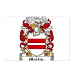 Martin Family Crest Postcards (Package of 8)