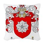 McBride Family Crest Woven Throw Pillow