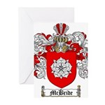 McBride Family Crest Greeting Cards (Pk of 20)