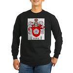 McBride Family Crest Long Sleeve Dark T-Shirt