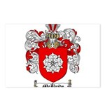 McBride Family Crest Postcards (Package of 8)