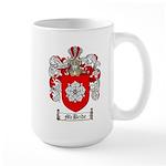 McBride Family Crest Large Mug