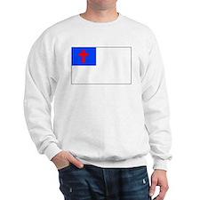 Christian Flag Sweatshirt
