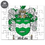 McCabe Family Crest Puzzle