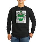 McCabe Family Crest Long Sleeve Dark T-Shirt