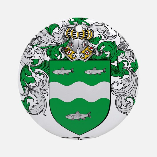 McCabe Family Crest Ornament (Round)