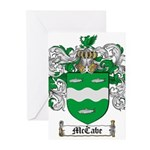 McCabe Family Crest Greeting Cards (Pk of 10)