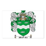 McCabe Family Crest Postcards (Package of 8)