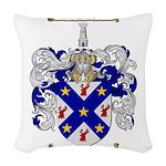McCallum Family Crest Woven Throw Pillow