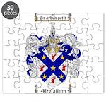 McCallum Family Crest Puzzle