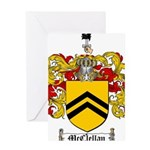 McClellan Family Crest Greeting Card