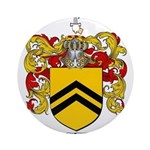 McClellan Family Crest Ornament (Round)