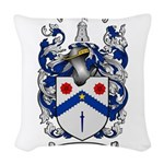 McClure Family Crest Woven Throw Pillow