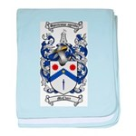 McClure Family Crest baby blanket
