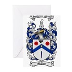 McClure Family Crest Greeting Cards (Pk of 20)