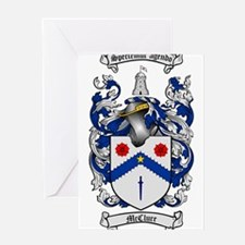 McClure Family Crest Greeting Card