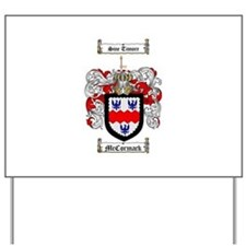 McCormack Family Crest Yard Sign