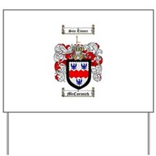 McCormick Family Crest Yard Sign
