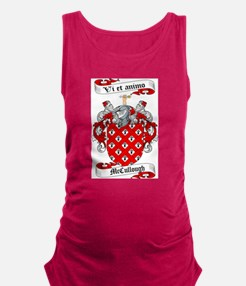 McCullough Family Crest Maternity Tank Top