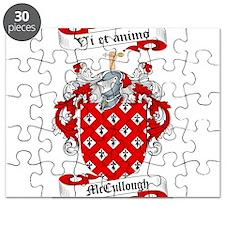 McCullough Family Crest Puzzle